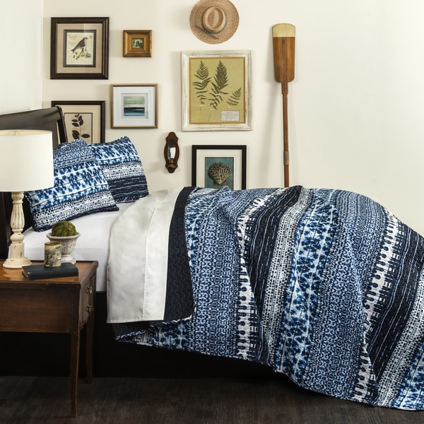 Lush Decor Lambert Tie Dye 3-piece Quilt Set