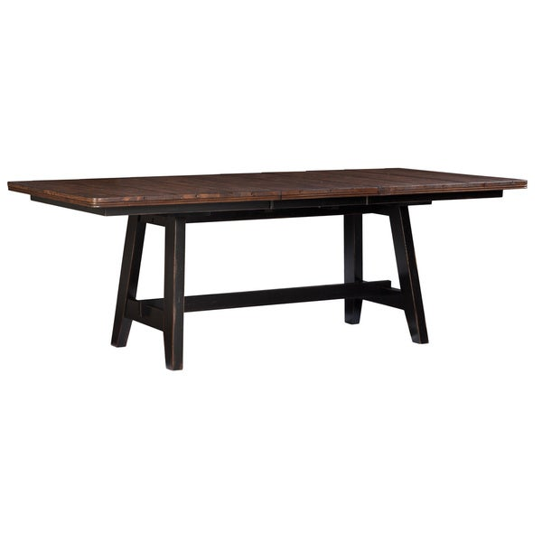 Dylanpfohlcom Rubberwood Dining Table Rubberwood Frame  : Winchester Black and Honey Nut Solid Knotty 42x66 85 Trestle Dinette Table d4158e38 8ef5 47e9 bbaa 74a96dce4625600 from dylanpfohl.com size 600 x 600 jpeg 11kB