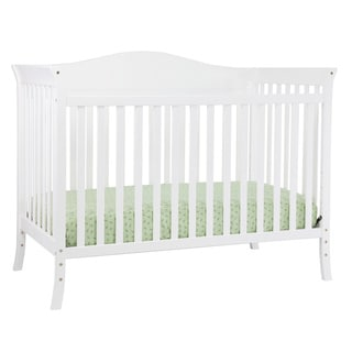 Bella 4-in-1 Convertible Crib with Toddler Rail