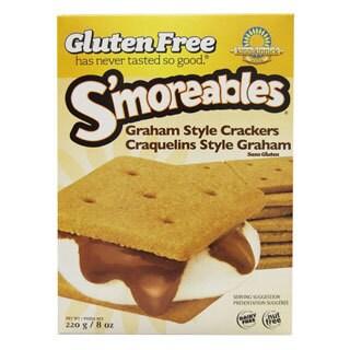 Kinnikinnick Gluten Free S'moreables Graham Style Crackers (2-pack)