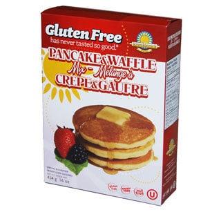 Kinnikinnick Gluten Free Pancake and Waffle Mix (2-pack)