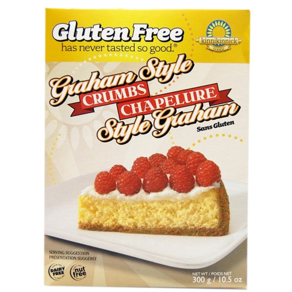 Kinnikinnick Gluten Free Graham Style Crumbs (2-pack)