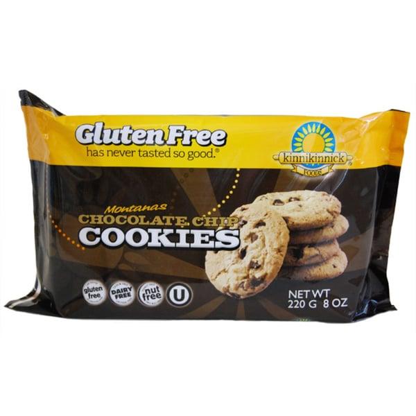 Kinnikinnick Montanas Gluten Free Chocolate Chip Cookies (2-pack)