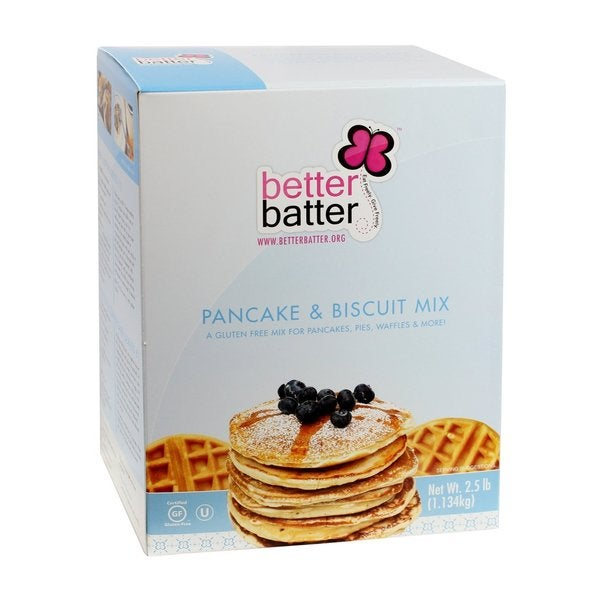 Better Batter 2.5-pound Gluten Free Pancake/ Biscuit Mix (Pack of 2)