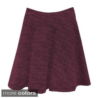 Baby'O Girl's Boucle Knit Drop Waist Skirt