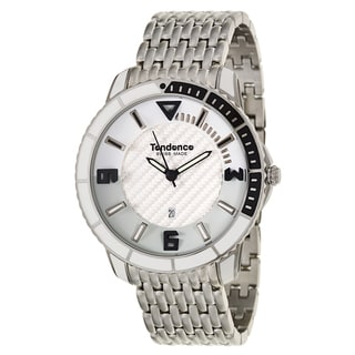 Tendence Men's TG152051 'Slim' Stainless Steel Quartz Watch
