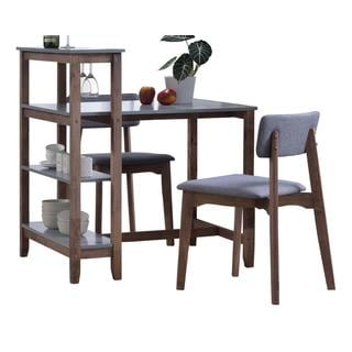 Apollo 3-piece Table Set With Shelf
