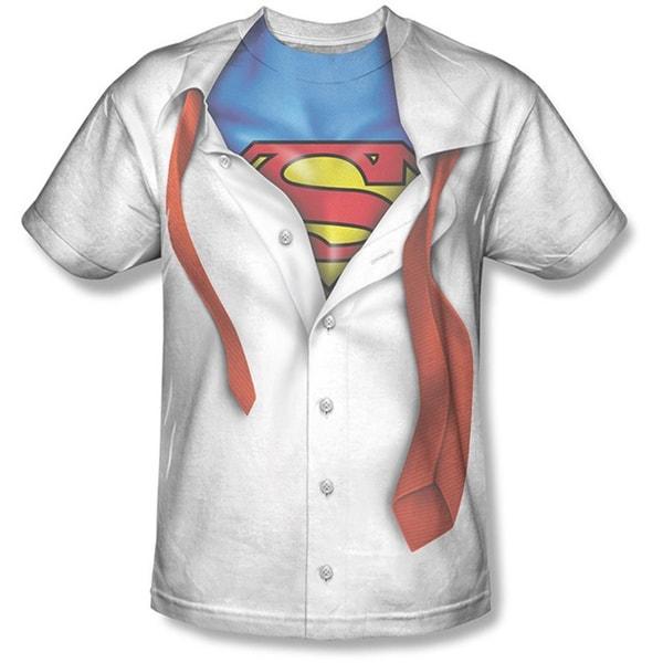Clark Kent Superman Transform Cotton T-shirt