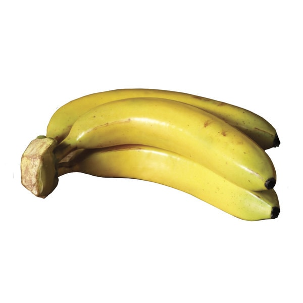 Sage & Co. 9-inch Decorative Banana (Bunch of 3, Pack of 6)