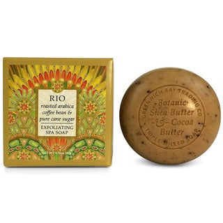 Greenwich Bay Trading Co. Roasted Arabica Coffee Bean/ Pure Cane Sugar Exfoliating Spa Soap (Set of 2)