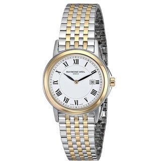 "Raymond Weil Women's 5966-STP-00300 ""Tradition"" Swiss Quartz Two Tone Stainless Steel Watch"