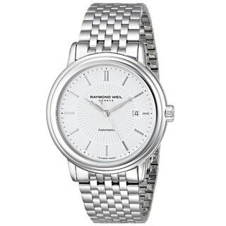 Raymond Weil Men's 2847-ST-30001 'Maestro' Analog Display Swiss Automatic Silver Watch