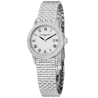 "Raymond Weil Women's 5966-ST-00300 ""Tradition"" Swiss Quartz Stainless Steel Watch"