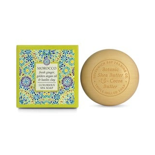 Madame Earth Fresh Ginger, Argan Oil, and Kaolin Clay Exfoliating Spa Soap from Greenwich Bay Trading (Set of 2)