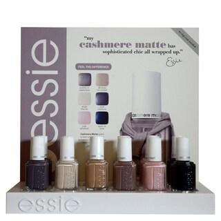 Essie Cashmere Matte 12-piece Nail Polish Display Kit