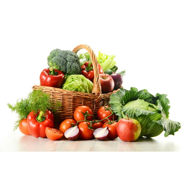 This Week's Harvest Large Certified Organic Fresh Farmers Market Bundle (Local Delivery)