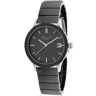 Kenneth Cole Women's KC4838 Classic Round Gunmetal Bracelet Watch