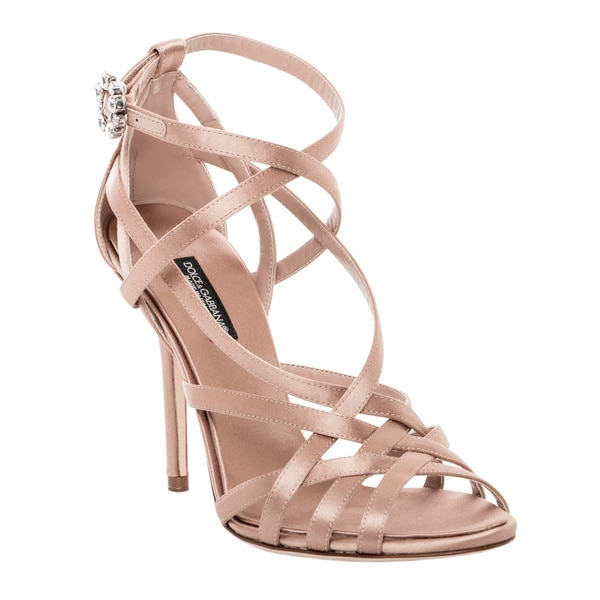 Dolce & Gabbana Strappy Ankle Strap Stiletto Shoe