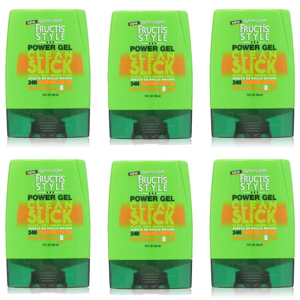 Garnier Fructis Style Clean Stick Power Gel (Pack of 6)