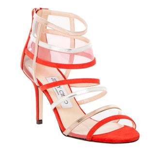 Jimmy Choo Mixer Strappy Cage Sandal