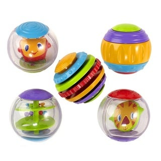 Bright Starts Shake and Spin Activity Balls
