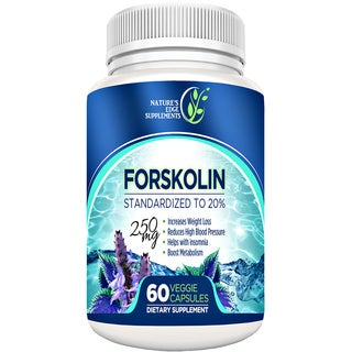 Nature's Edge Forskolin 250 mg Appetite Suppressant/ Weight Loss Supplement (60 Count)