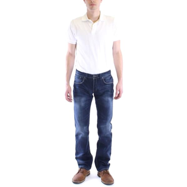 Dinamit Men's Bryant Slim Straight Leg Jeans