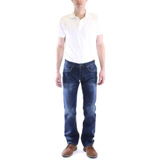 Dinamit Men's Bryant Slim Straight Leg Jeans