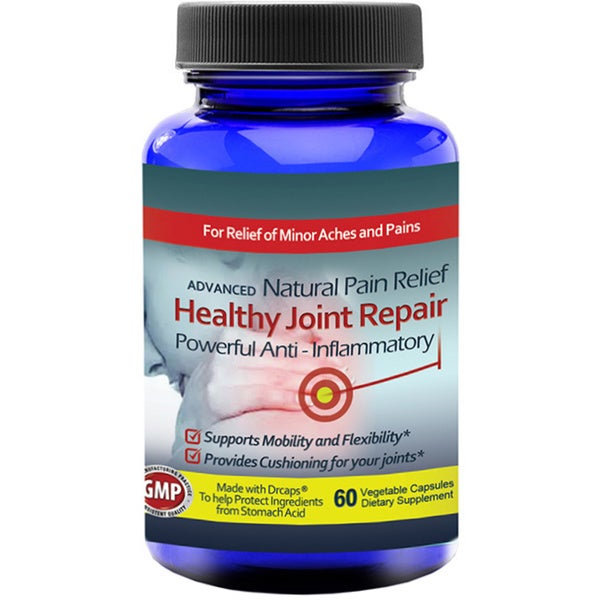 Totally Products Healthy Joint Repair Anti-inflammatory Pain Relief Supplement (60 Capsules)