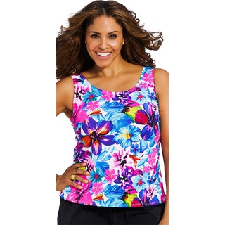 Beach BelleBora Bora Women's Plus Size Tankini Top