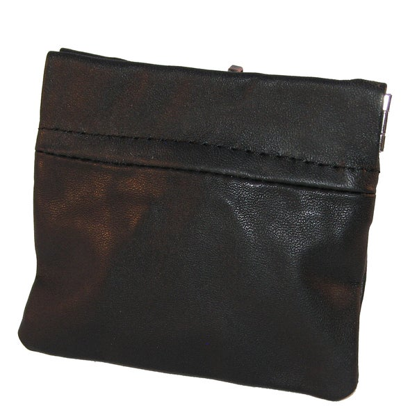 Continental Leather Coin Pouch and Key Holder