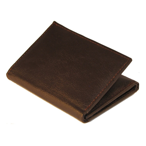 Men's Continental Leather Trifold Wallet