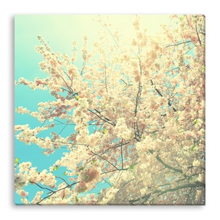 Roman Sigaev's 'Flowering Apple Tree' Gallery Wrapped Canvas