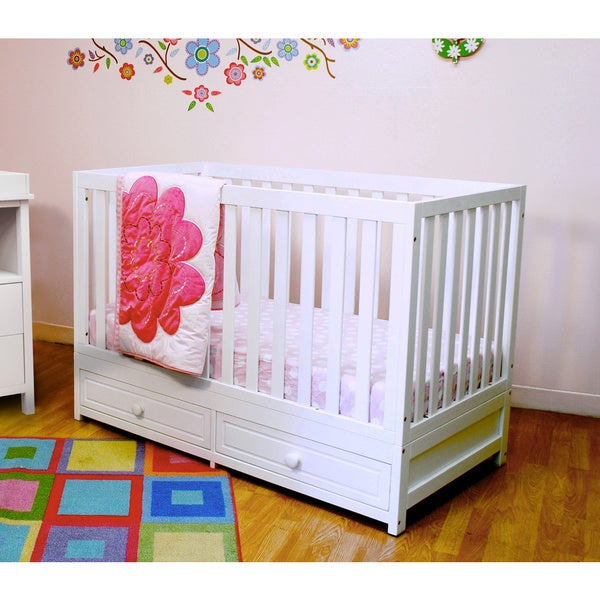 Mikaila January 3-in-1 Convertible Crib