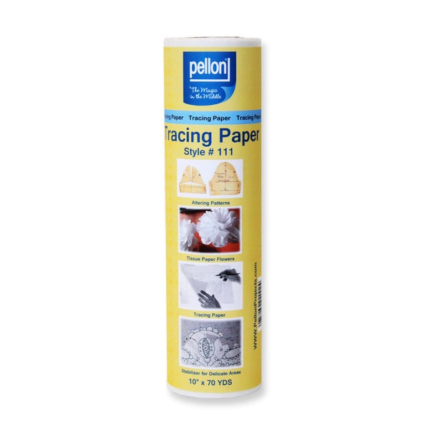 111 White 10x70 Yard Tracing Paper Roll