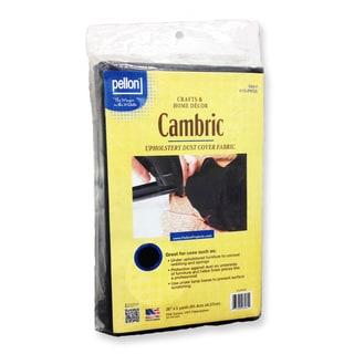 Pellon 36-inch Black Cambric Cloth (5 Yards)