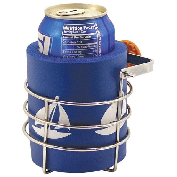 Shoreline Marine Swivel Mount Brass Cup Holder 14744012