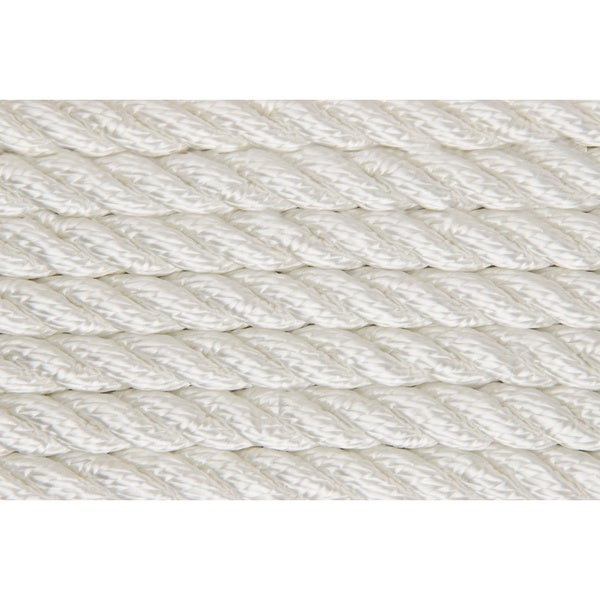 Shoreline Marine 3/8-inch White Twisted Nylon Anchor Line