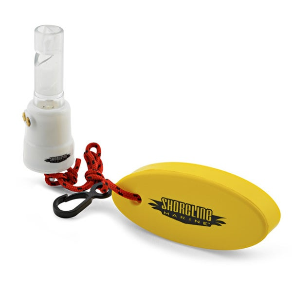 Shoreline Marine Flashing Safety Whistle