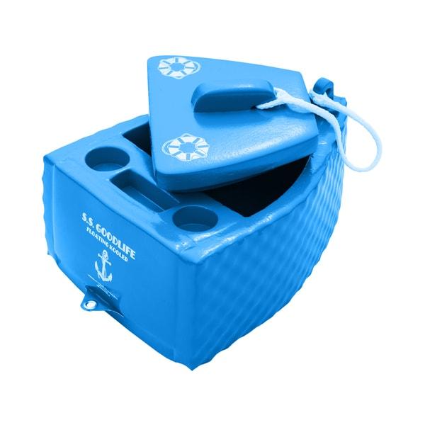 Trc Recreation Super Soft Floating Cooler Bahama Blue