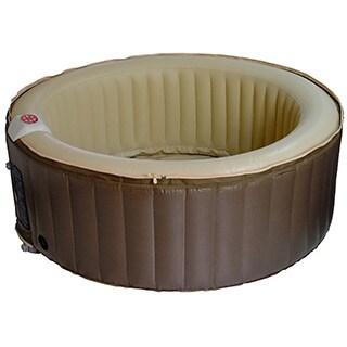 Homax 211-gallon Inflatable 4-person Round Portable Hot Tub