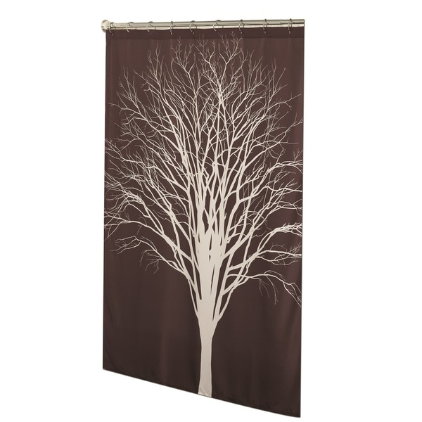 Shadowtree Fabric Shower Curtain
