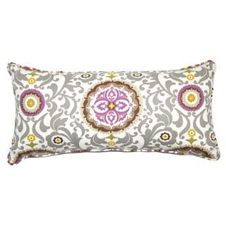 Loni M. Designs Celestial Sterling Long Accent Pillow
