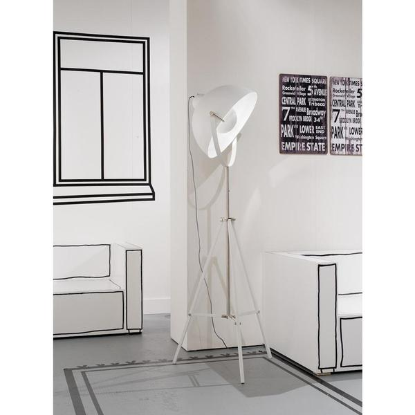Contempo Lights Leko Hollywood Tripod Floor Lamp