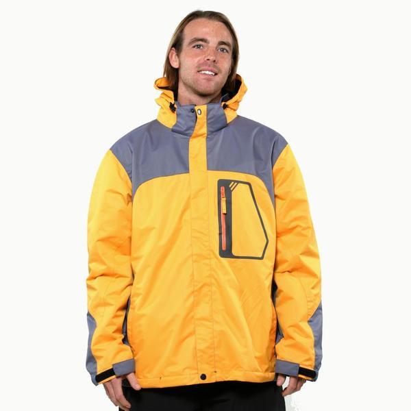 Pulse Men's Gold Carbon Glacier Systems Jacket