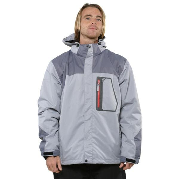 Pulse Men's Grey Carbon Glacier Systems Jacket