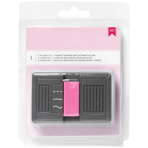 Pink Combo Blade Trimmer 3 In 1 Blade-For 368100