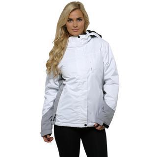 Pulse Women's White and Grey Kodiak Jacket