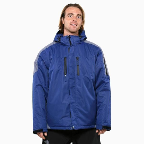 Pulse Men's Dark Blue Carbon Crest Insulated Jacket