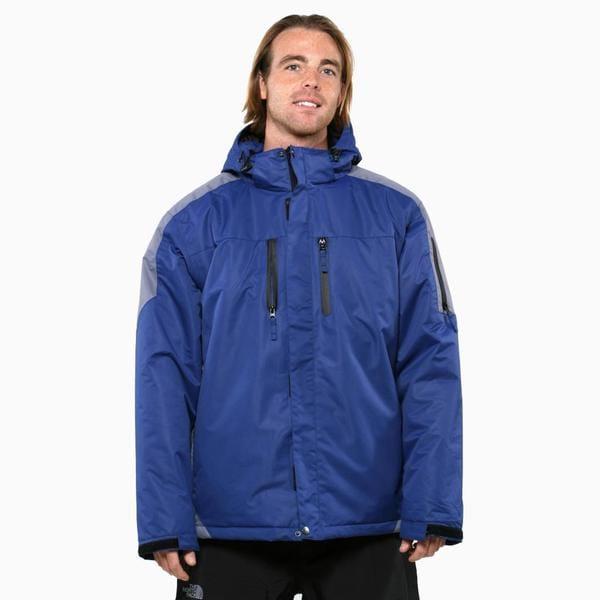 Pulse Men's Dark Blue Carbon Crest Insulated Jacket